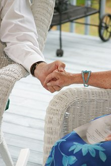 Individual/Couples. Library Image: Couple Hold hands